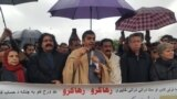 Islamabad, Pakistan: Mohsin Dawar speak to civil society members who protested for Manzoor Pashteen.