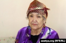 Гульнар Каленова, страдающая болезнью Альцгеймера, Алматы