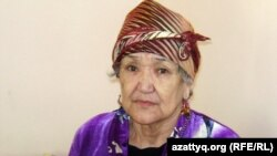 Гульнар Каленова, страдающая болезнью Альцгеймера. Алматы, 16 октября 2012 года.