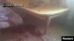 تصویر تلویزیونی از محل کشته شدن اسامه بن لادن در پاکستان