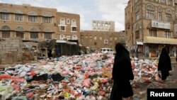 Detalj iz prestonice Jemena - Sane