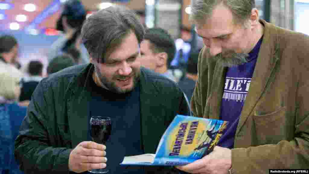 Мирослав Слабошпицький (ліворуч), режисер фільму «Плем'я»