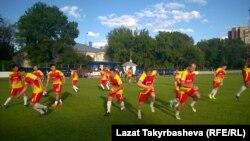 Игроки кыргызской команды. Москва.