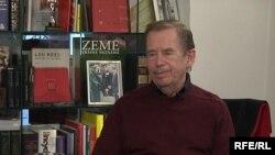 Ватслав Ҳавел дар манзилаш, 21-уми октябри соли 2009.