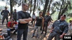 ОМОН разогнал лагерь защитников Химкинского леса