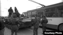 Armata sovietică împotriva cetățenilor. Vilnius, 1991.