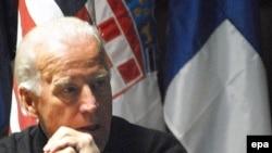 U.S. Vice President-elect Joseph Biden in Afghanistan