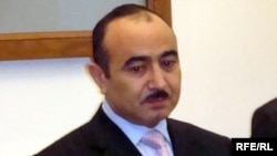 Azerbaijan -- Ali Hasanov, chief of public policy department of the Presidential Administration, Baku, 29Dec2008
