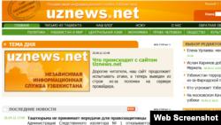 Muxbirlari hayotiga bevosita tahdid borligi sabab Uznews.net ëpilgan edi.