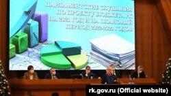 Парламентские слушания по проекту закона «О бюджете Республики Крым на 2021 год и на плановый период 2022-2023 годов», декабрь 2020 года