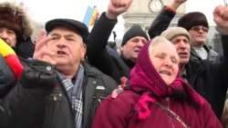 Calls For Early Elections As Protests Continue In Moldova