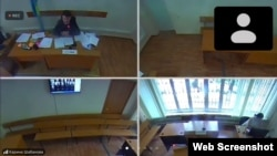 Суд на 13 активистами. Алматы, Алмалинский районный суд. Судебный процесс проходит онлайн, 3 августа 2021 года