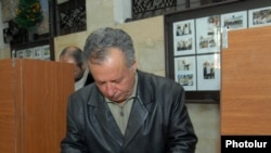 Voters went to the polls in Yerevan on January 10
