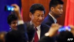Қытай басшысы Си Цзинпинь. Сиэтл, АҚШ, 22 қыркүйек 2015 жыл.