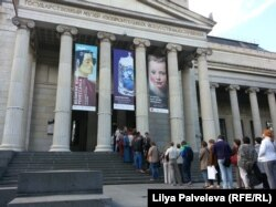Пушкинский музей - один из самых посещаемых в Москве