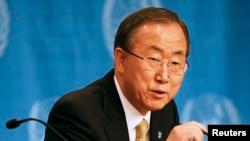 بان گیمون٬ دبیرکل سازمان ملل متحد