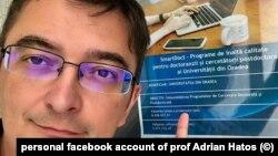 Adrian Hatos, sociolog, profesor la Universitatea Oradea