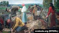 Аляксей Шыгаеў, «Першы калгас» (1936)