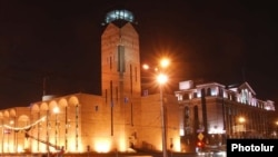Armenia -- The Yerevan municipality building.