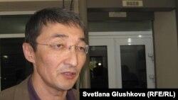 Адвокат Нұрлан Бейсекеев. Астана, 21 маусым 2012 жыл.