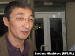 Адвокат Нурлан Бейсекеев.