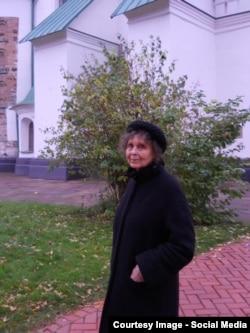 София Губайдулина в Софии Киевской (октябрь 2012)