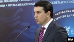Шефот на македонската дипломатија Никола Попоски