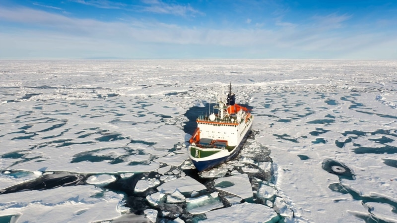 Russia Launches New Icebreaker As It Seeks To Dominate Arctic As Ice Retreats