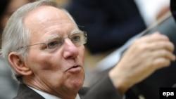 Германскиот министер за финансии Волфганг Шојбле