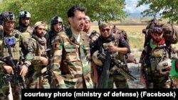 اسدالله خالد، سرپرست وزارت دفاع افغانستان
