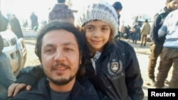 Бана Алабед, эвакуированная из Алеппо