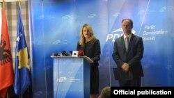 Nominimi i Dhurata Hoxhës për ministre të Drejtësisë