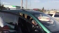 ყოფილი პრეზიდენტის ალმაზბეკ ატამბაევის მომხრეები პოლიციას დაუპირისპირდნენ.