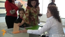 Voting Starts In Armenian Parliamentary Elections