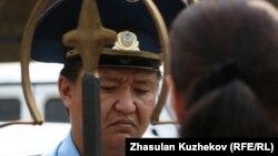 Астана полициясы (Көрнекі сурет).