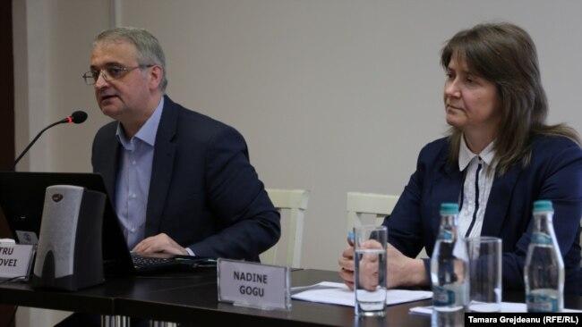 Petru Macovei și Nadine Gogu