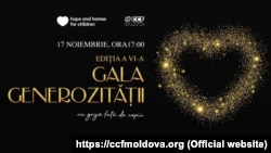 Moldova - Gala Generozității- logo