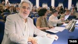 Placido Domingo la Moscova la deschiderea ediției 2011 Operalia