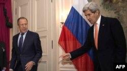 Сергей Лавров и Джон Керри в Мюнхене. 7 февраля