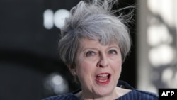 Британиянын премьер-министри Тереза Мей.