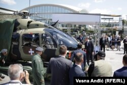 Srbija je nabavila ukupno devet helikoptera H145M - pet za vojsku, četiri za policiju