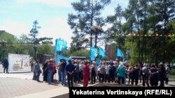 В Иркутске акция протеста педагогов, 30 мая 2014