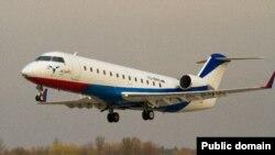 """""""Ак Барс Аэро"""" CRJ-200 очкычы"""