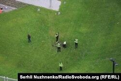 Следственные действия на территории посольства США в Киеве