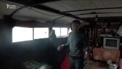 Avtobusda yaşayan ailəyə yardım