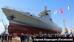 Российский патрульный корабль «Сергей Котов»