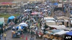 A market in the city of Kirkuk
