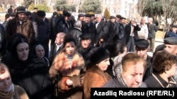 Протест учителей в Баку, 6 марта 2012