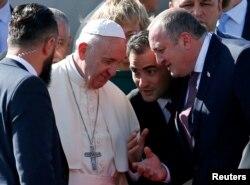 Папа Римский и Георгий Маргвелашвили