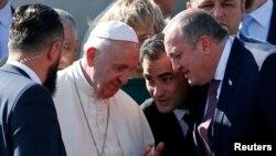 Папа римский и Маргвелашвили